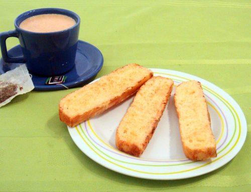 Bay biscuits con semillas – Sin harina de trigo