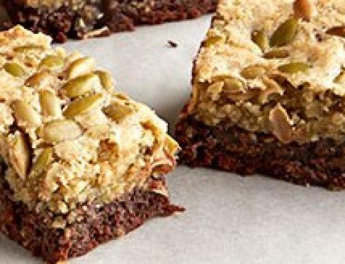 Brownies con semillas sin TAAC y sin drogas alimentarias