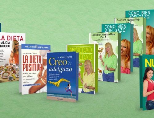 Libros editados y digitales de la Lic. en Nutrición Alicia Crocco