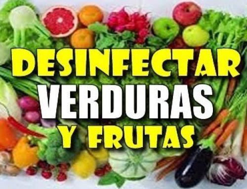 ¿Cómo eliminar la mayor cantidad de pesticidas y microorganismos en las verduras y frutas?
