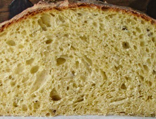 Pan de harina de maíz con semillas- Sin TACC